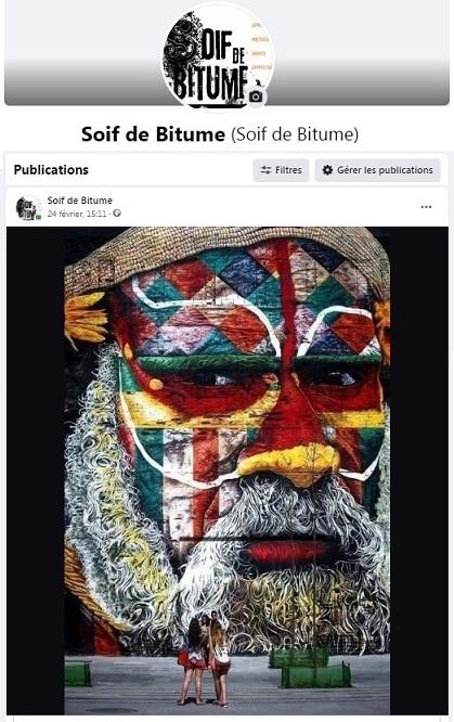 Page Facebook de Soif de Bitume